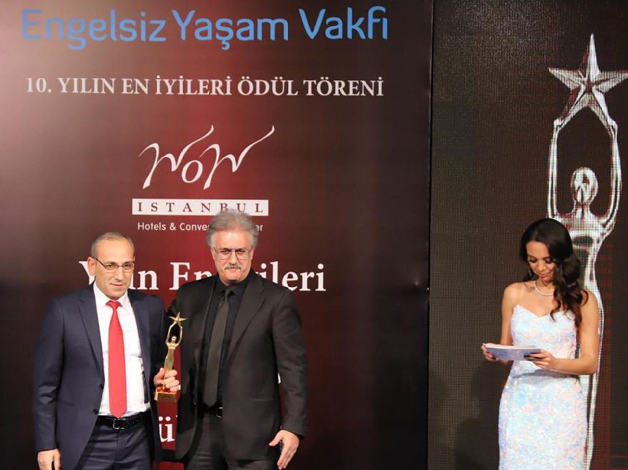 We won the best logistics company award from Engelsiz Yaşam Vakfı.